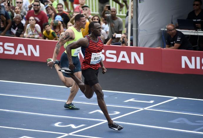 Usain Bolt Desafio Bolt contra o Tempo  (Foto: André Durão / Globoesporte.com)