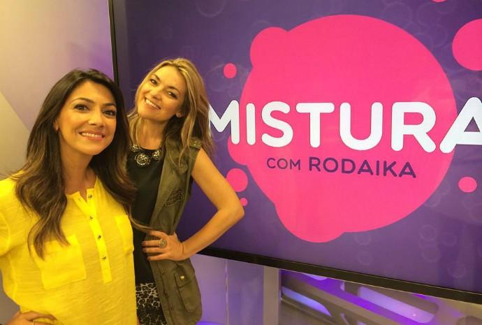 Rodaika e Mistura (Foto: Otávio Daros/RBS TV)