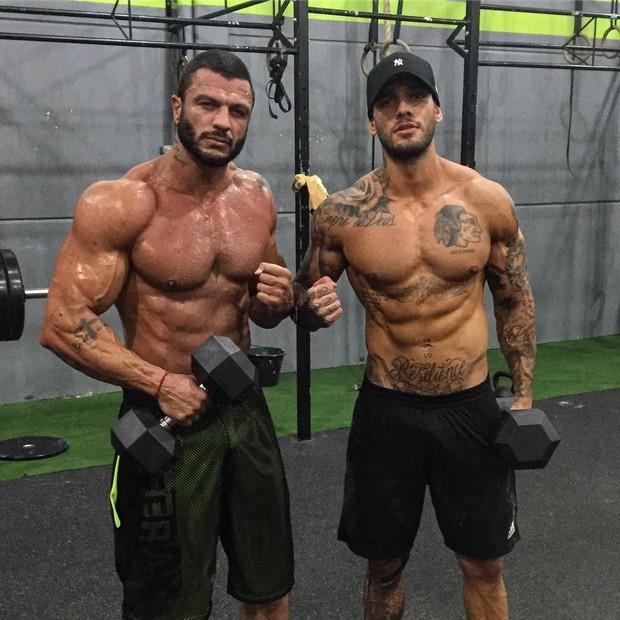 Kleber Bambam e Lucas Lucco (Foto: Reprodução/Instagram)