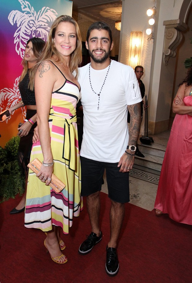 Luana Piovani e Pedro Scooby (Foto: Marcos Ferreira/Brazil News)