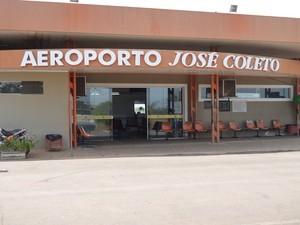 Aeroporto de Ji-Paraná, RO (Foto: Roger Henrique/G1)