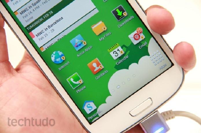 Com o MegaSound é possível usar um alerta diferente para cada app (Foto: Allan Melo/TechTudo)