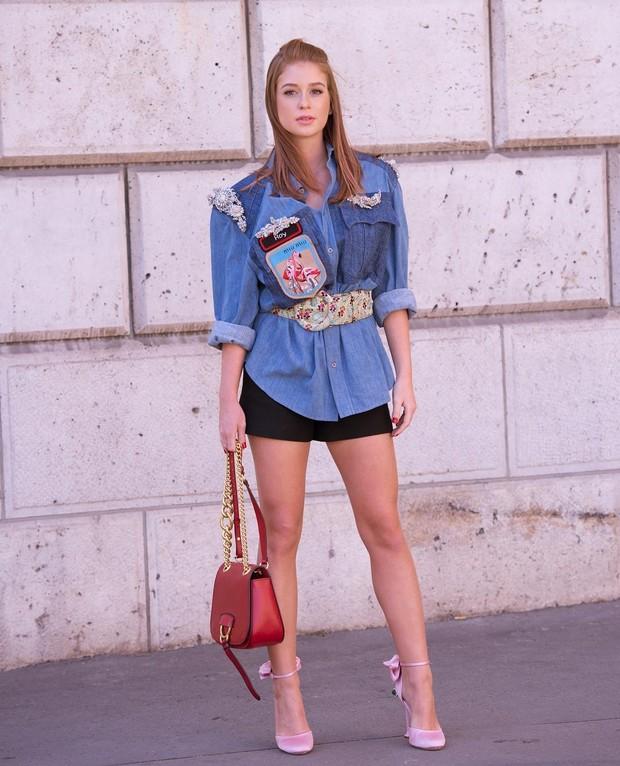 Marina Ruy Barbosa posa em Paris (Foto: Reprodução / Instagram)