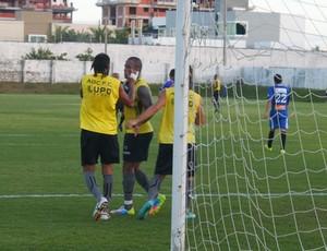 Dênis Marques e Rodrigo Silva formam dupla de ataque do ABC (Foto: Divulgação/ABC)
