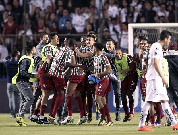 LDU x Fluminense Sul-Americana
