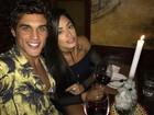 Felipe Roque faz declaração de amor para Aline Riscado: 'Sou teu, sempre'