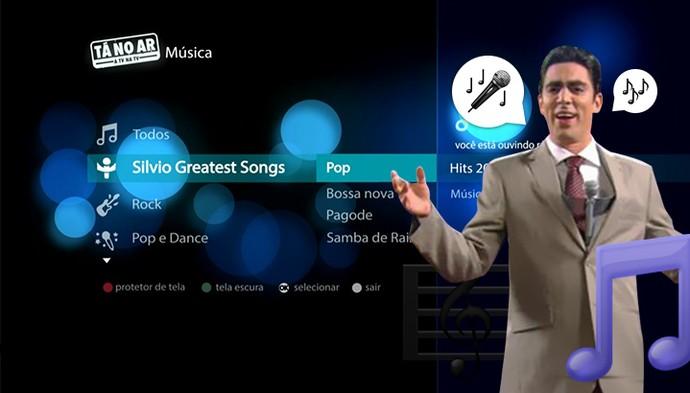 Silvio Greatest Songs arrasa na terceira temporada do Tá no Ar (Foto: TV Globo)