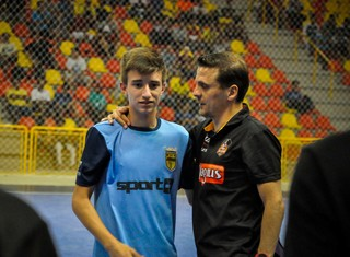 Ricardinho, auxiliar técnico do Sorocaba Futsal (Foto: Danilo Camargo/ Magnus Futsal)