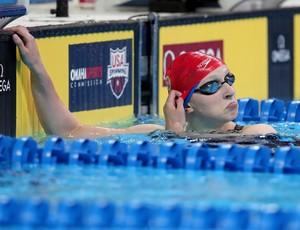 Katie Ledecky no trials de natação dos Estados Unidos (Foto: Photo by Tom Pennington/Getty Images)