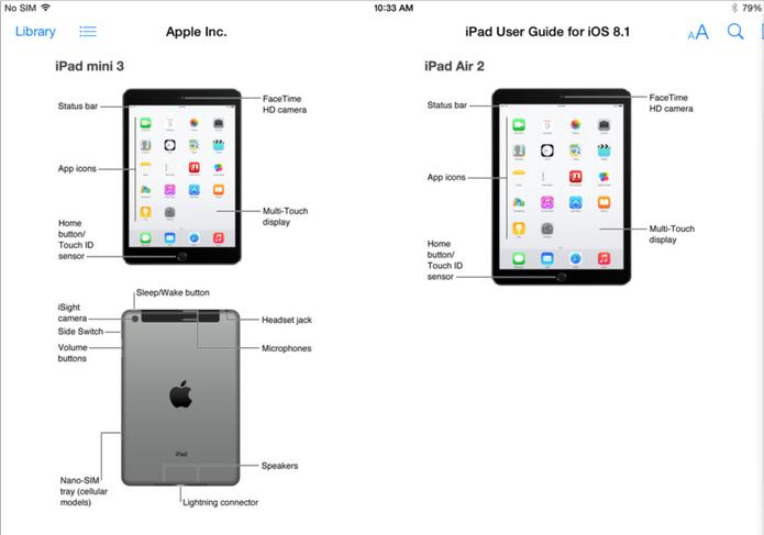 Apple Vaza novos iPad Air 2 e iPad Mini 3 (Foto: Reprodução)