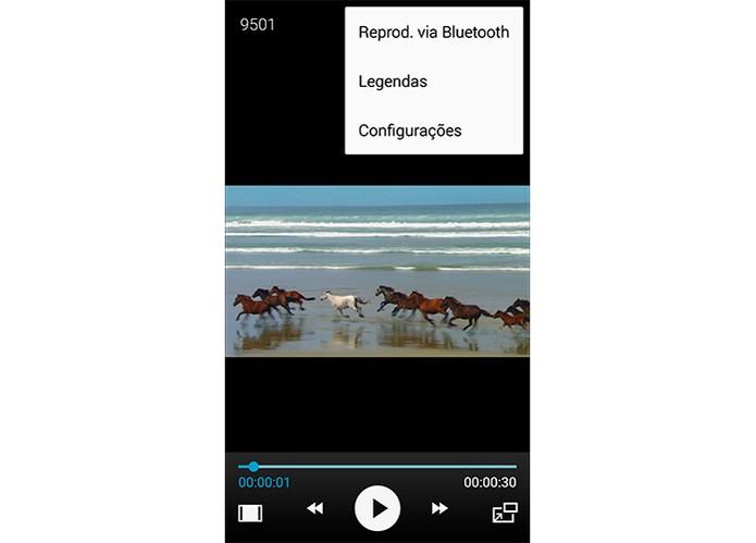 Player BubbleupNp permite visualizar vídeos com legendas (Foto: Reprodução/Barbara Mannara)