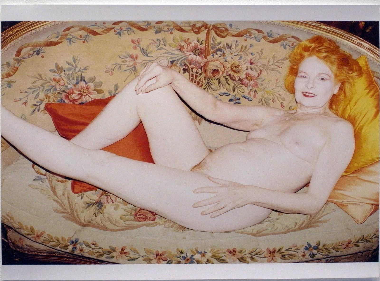 Foto de Vivienne Westwood nua, clicada por Juergen Teller (Foto: Divulgação)
