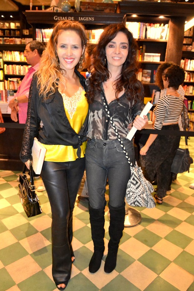 Leona Cavalli e Claudia Ohanna (Foto: Webert Belício/ Brazil News)