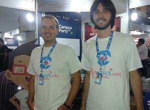 Marcio Acorci e Daniel Tamiosso, da plataforma Mecasei.com (Foto: Isabela Moreira)
