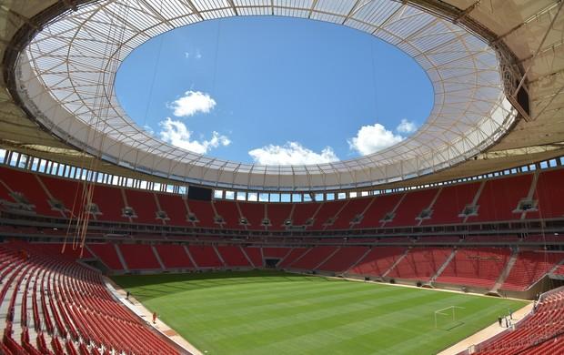 estádio Mané Garrincha (Foto: Marcello Casal Jr / ABr)