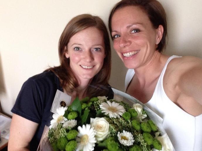 Kate e Helen Richardson-Walsh hóquei (Foto: Reprodução / Instagram)