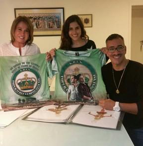 Zilu, Camilla Camargo e Cahê Rodrigues (Foto: Instagram/ Reprodução)