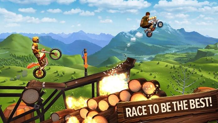 Trials Frontier tem gráficos incríveis e jogabilidade viciante (Foto: Divulgação)