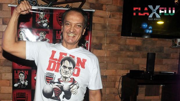 Leandro, Flamengo, Especial fla x flu (Foto: André Durão / Globoesporte.com)