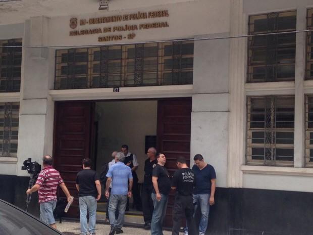 Polícia Federal convocou entrevista para dar mais detalhes sobre a operação (Foto: João Paulo de Castro / G1)