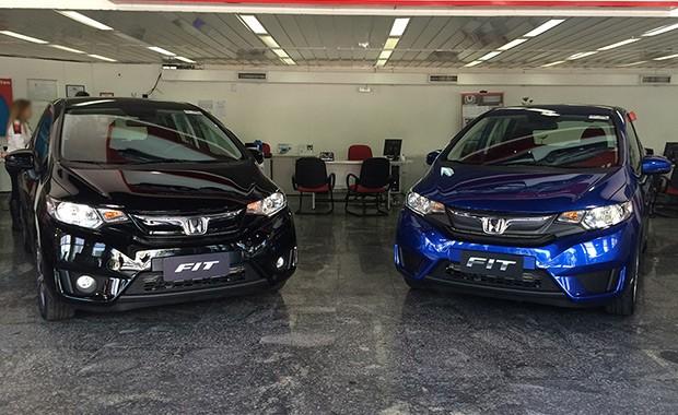 Novo Honda Fit nas lojas (Foto: Guilherme Blanco Muniz/Autoesporte)