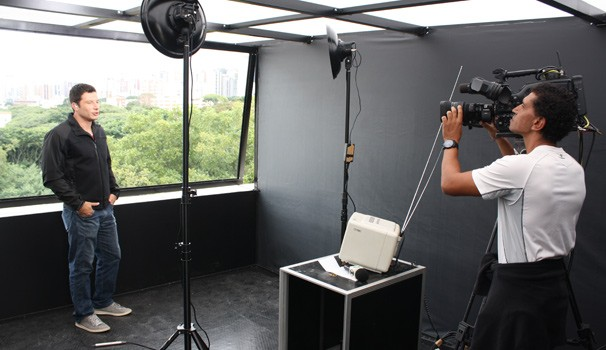 Estudio RPC TV (Foto: Divulgação/ RPC TV)