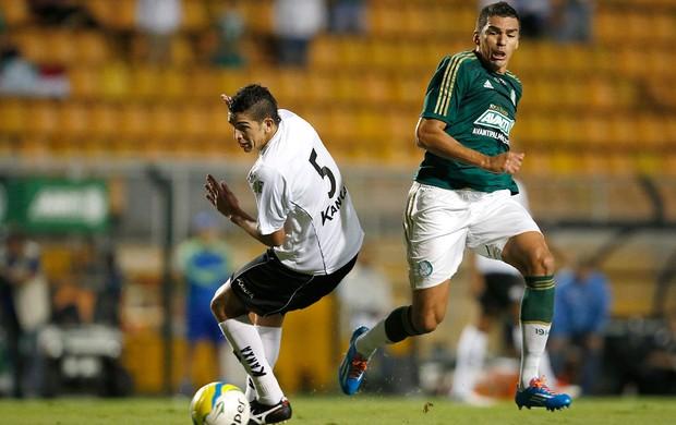 Lucio jogo Palmeiras e Bragantino Paulistão (Foto: Mauro Horita / Globoesporte.com)