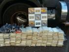 Polícia apreende droga escondida na lataria de caminhão em Rio Preto