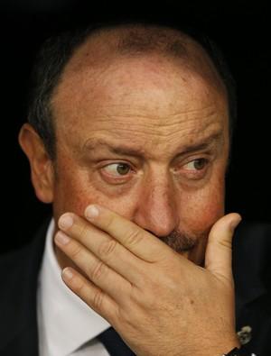 Rafa Benitez Real PSG (Foto: AP Photo/Daniel Ochoa de Olza)