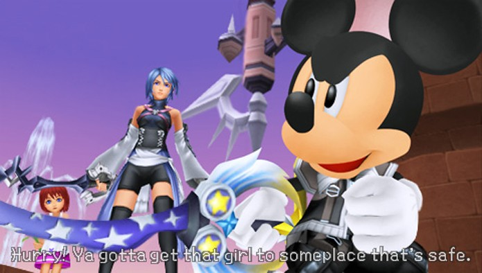 Kingdom Hearts: Birth By Sleep (Foto: Divulgação)