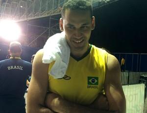 Mauricio Borges volei (Foto: David Abramvezt)