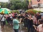 No AP, servidores públicos protestam após anúncio de salários parcelados