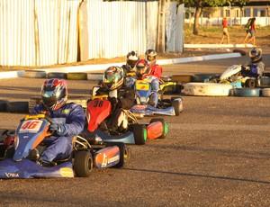 Primeira etapa do Campeonato Munipal de Kart de Rua em Palmas (Foto: Divulgação/Valério Zelaya)