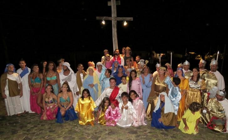 Paixão de Cristo Fernando de Noronha 8