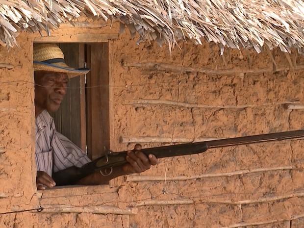 Ataques a animais tiram sossego de criadores de gado no Maranhão (Foto: Reprodução/TV Mirante)