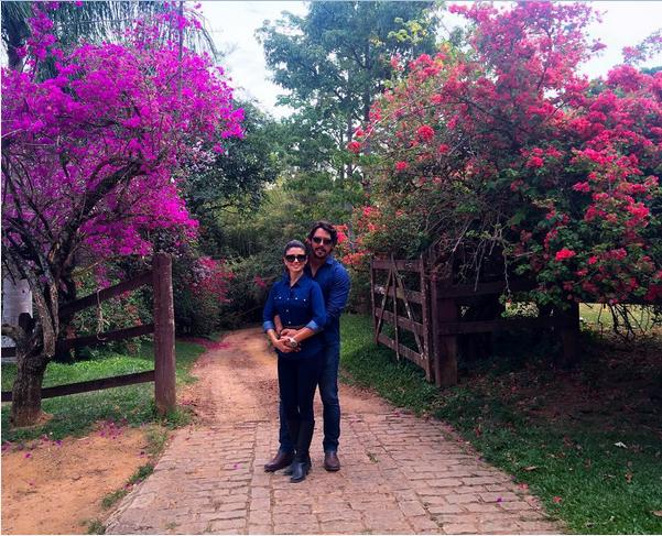 Paula Fernandes e o namorado (Foto: Reprodução/Instagram)