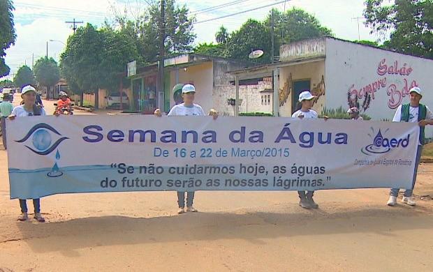 'Semana da Água' começa em Rondônia (Foto: Rondônia TV)