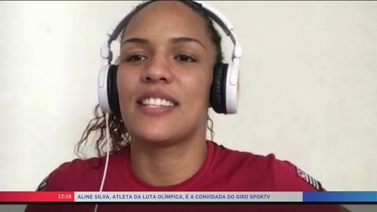 """""""Feita para lutar sim"""": lutadora olímpica fala sobre desafios de sua modalidade"""