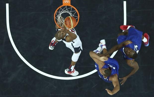 Kevin Durant basquete EUA x França (Foto: Reuters)