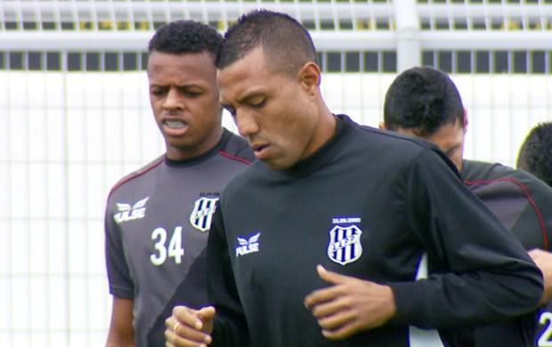 Ramírez meia Ponte Preta (Foto: Reprodução / EPTV)