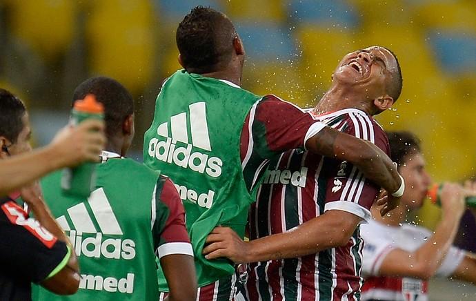 Walter Fluminense e São Paulo (Foto: Getty Images)