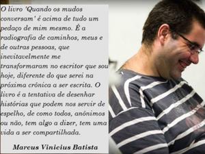 Segundo Marcus, campanha já atingiu 20% (Foto: Divulgação)