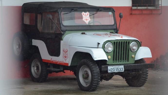 Jeep será rifado pelo Sergipe (Foto: Felipe Martins)