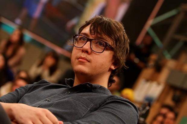 """Alexandre, filho de Chorão, no programa """"Altas Horas"""" (Foto: Leo Franco / AgNews)"""
