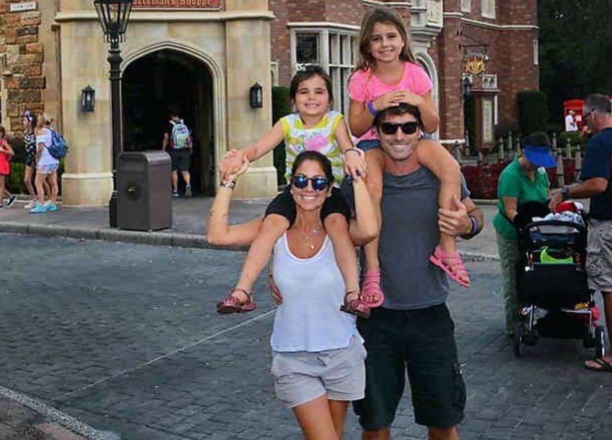 Patrícia Maldonado com a família (Foto: Arquivo Pessoal)
