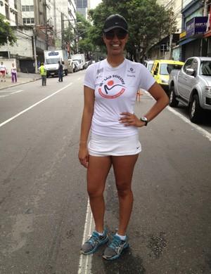 São Silvestre - Nathalia Ormundo (Foto: Luiz Cláudio Amaral / Globoesporte.com)