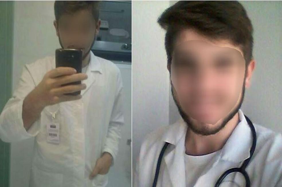 Jovem de 19 anos publica fotos nas redes sociais com artigos médicos (Foto: Reprodução/Facebook)