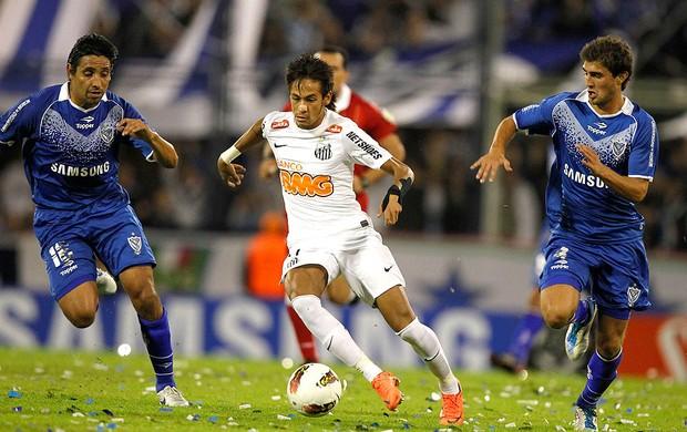 Neymar, Velez x Santos (Foto: Agência Reuters)