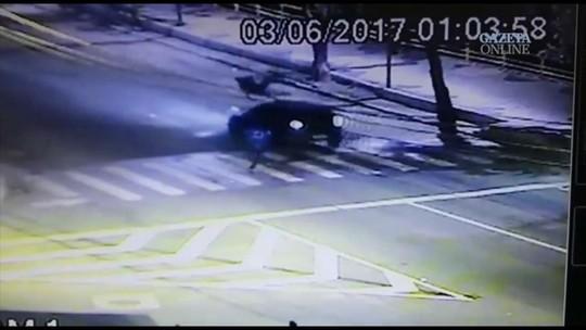 Suspeito de atropelar homem e fugir em Cachoeiro é identificado pela polícia no ES
