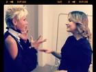 Claudia Leitte e Xuxa trocam figurinhas sobre maternidade